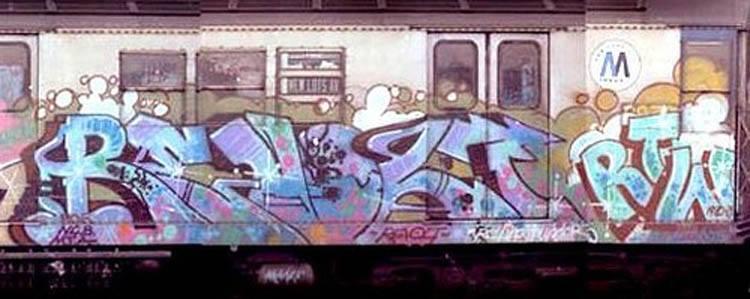 revolt graffiti newyork subway