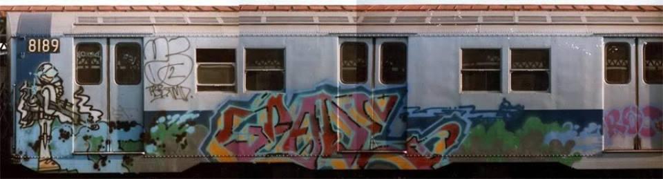 pade graffiti newyork subway
