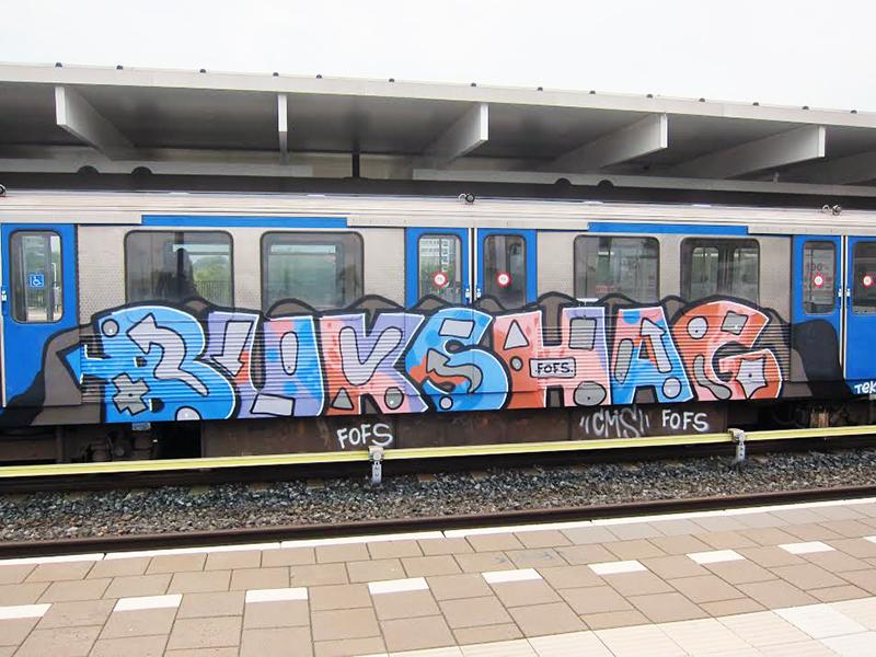 amsterdam subway graffiti fofs running