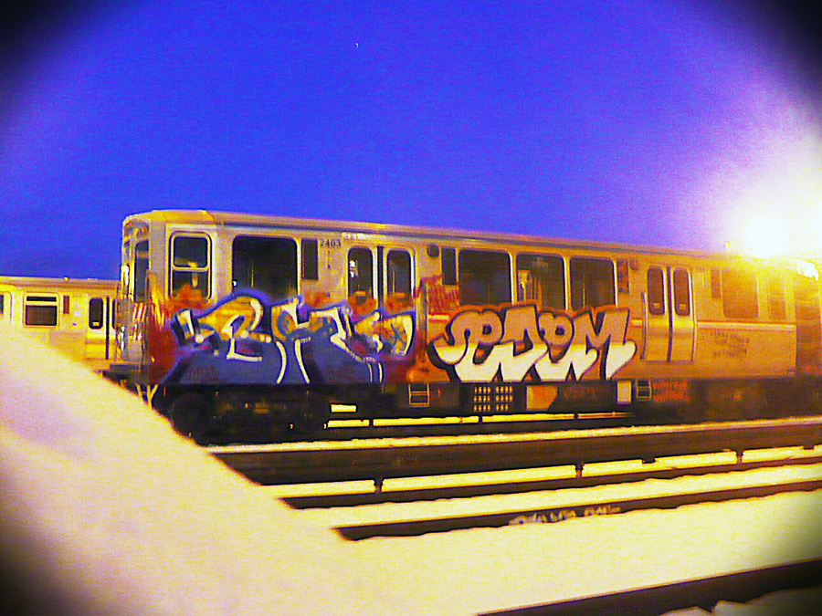 chicago graffiti subway yard edem bh