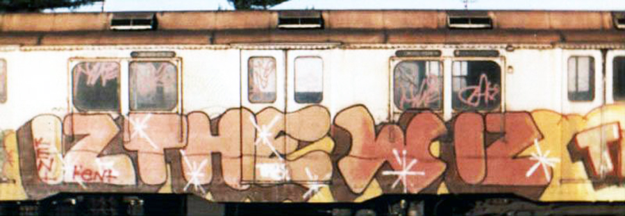 subway graffiti nyc newyork legend rip izthewiz