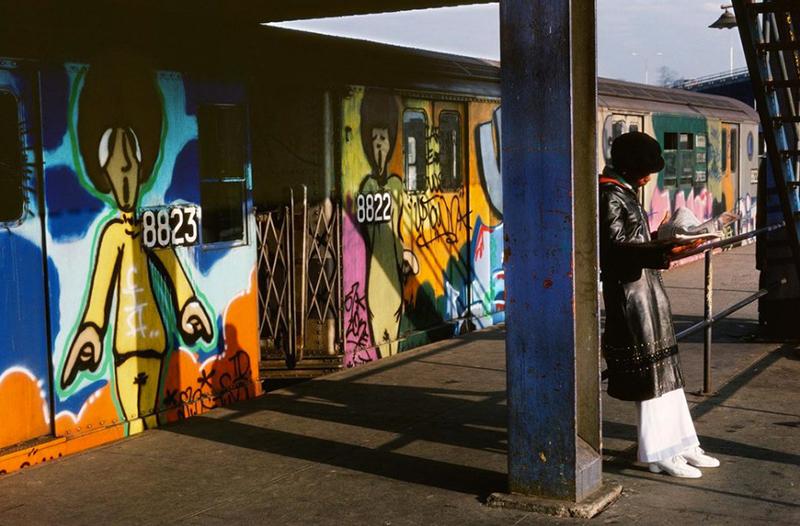 graffiti subway nyc legend newyork