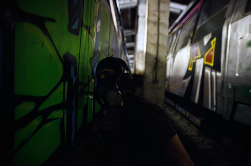 bucharest subway graffiti mser 2013 yard