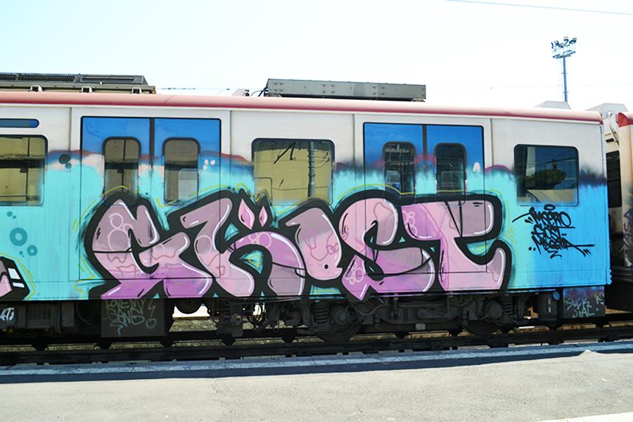 catania subway graffiti ghost