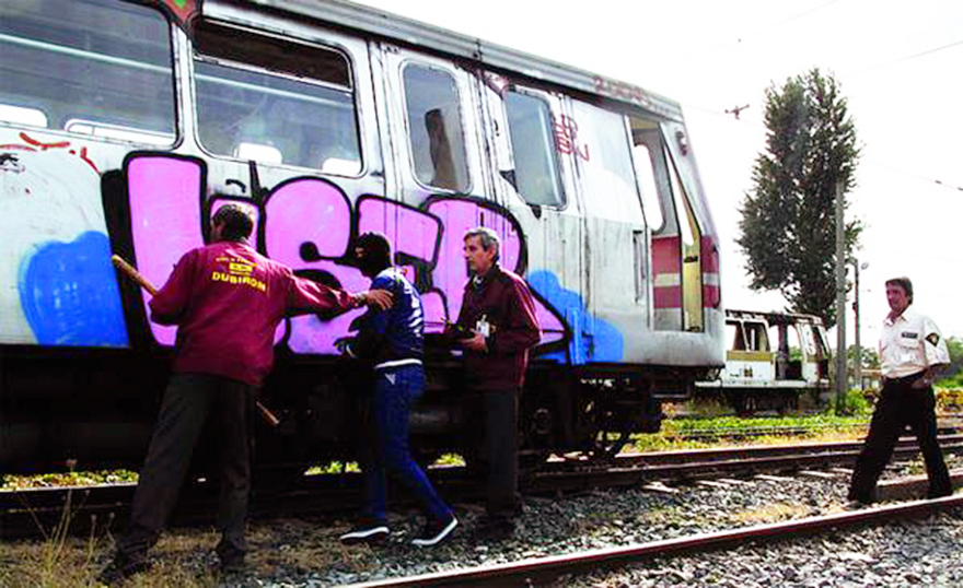 bucharest subway graffiti mser 2013 running catchmeifucan