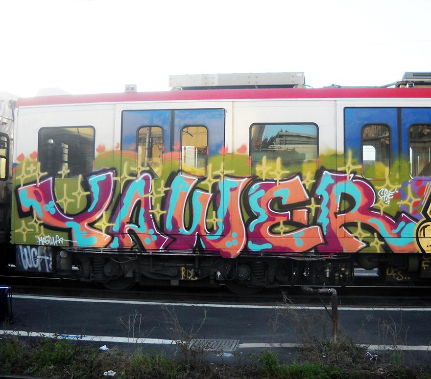 catania subway graffiti yawer