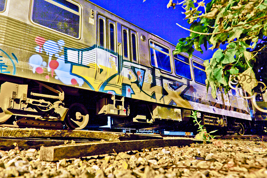 chicago graffiti subway yard drux