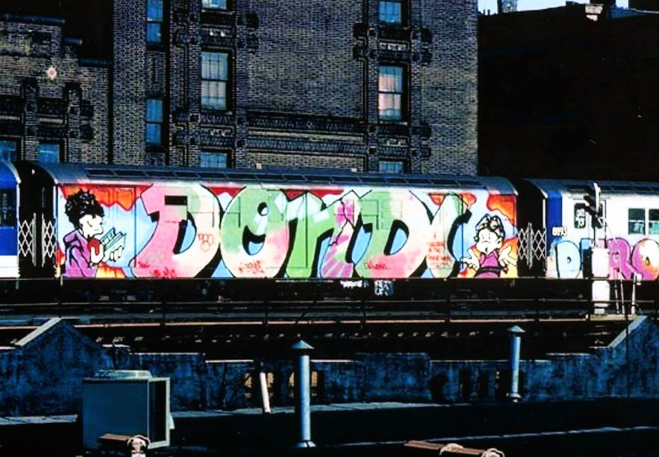 graffiti subway legend nyc newyork dondi wholecar 1980 duro