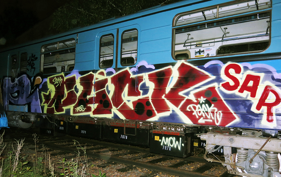 graffiti subway moskow pack sar