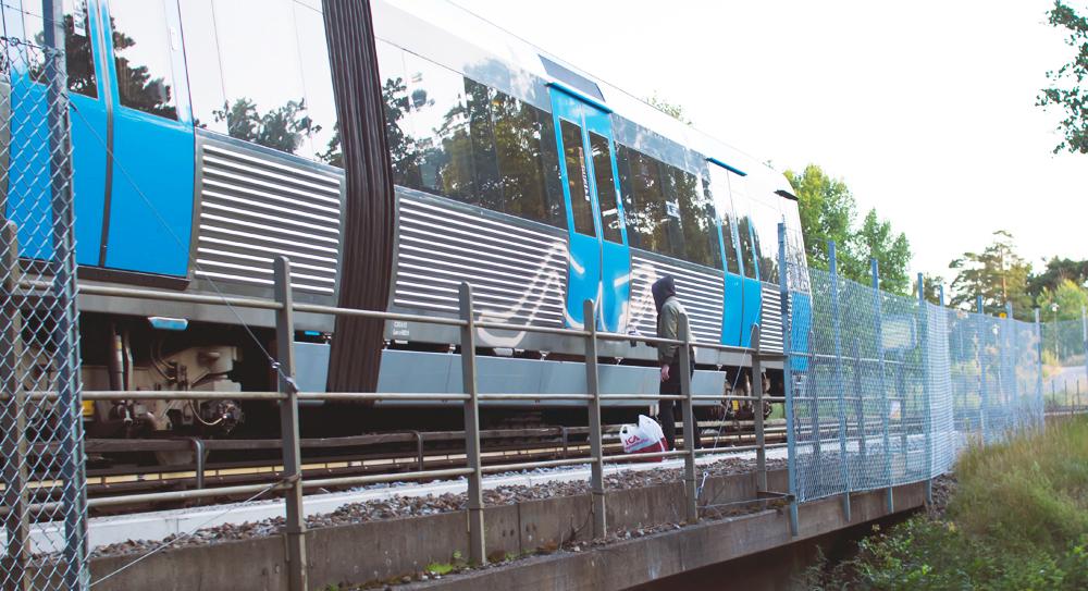 subway graffiti stockholm backjump action tunnelbana