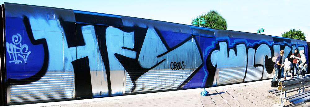 graffiti subway stockholm hfs wlc crew