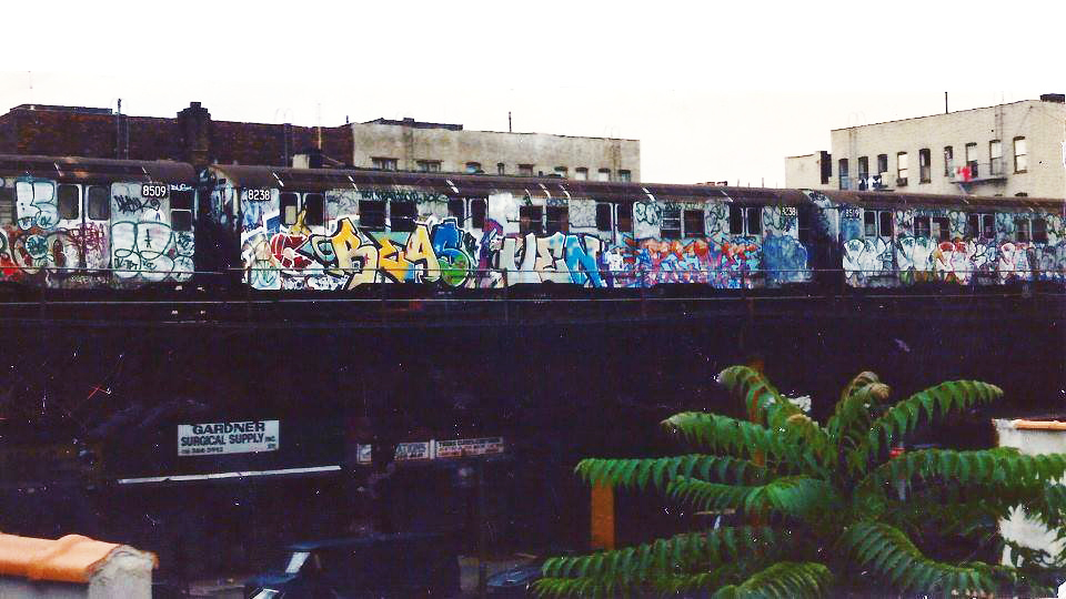 nyc graffiti subway newyork res ven aok