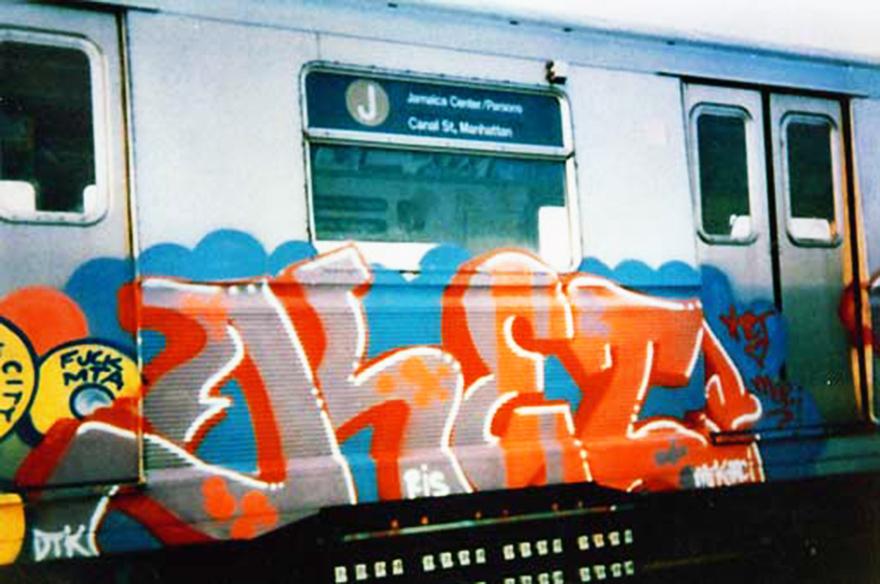 graffiti subway nyc newyork ris crew ket