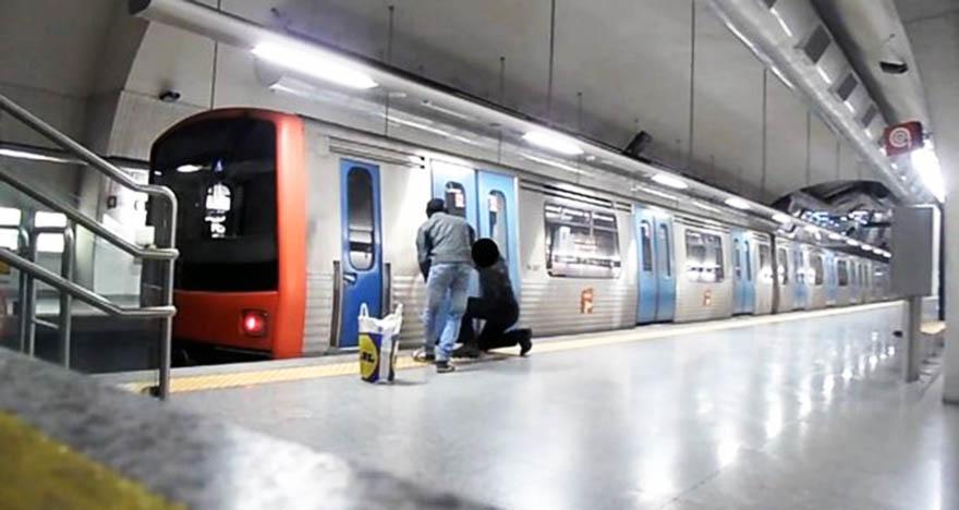 graffiti subway lisbon action station