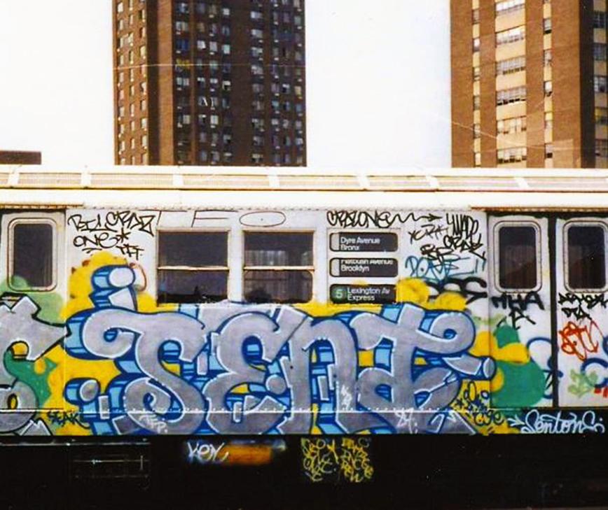 graffiti subway nyc newyork ris crew sento