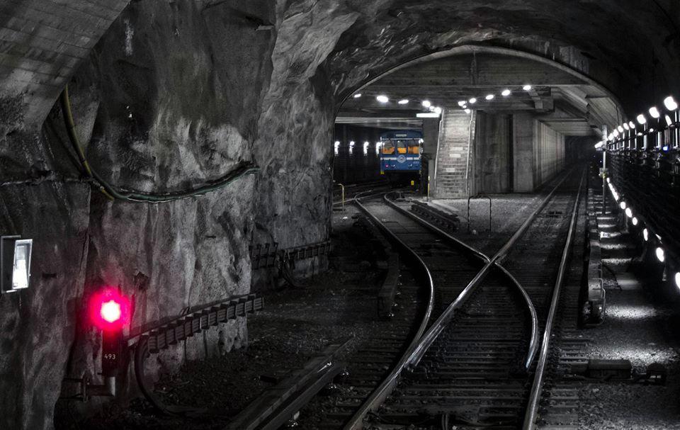graffiti subway stockholm spot layup tunnel