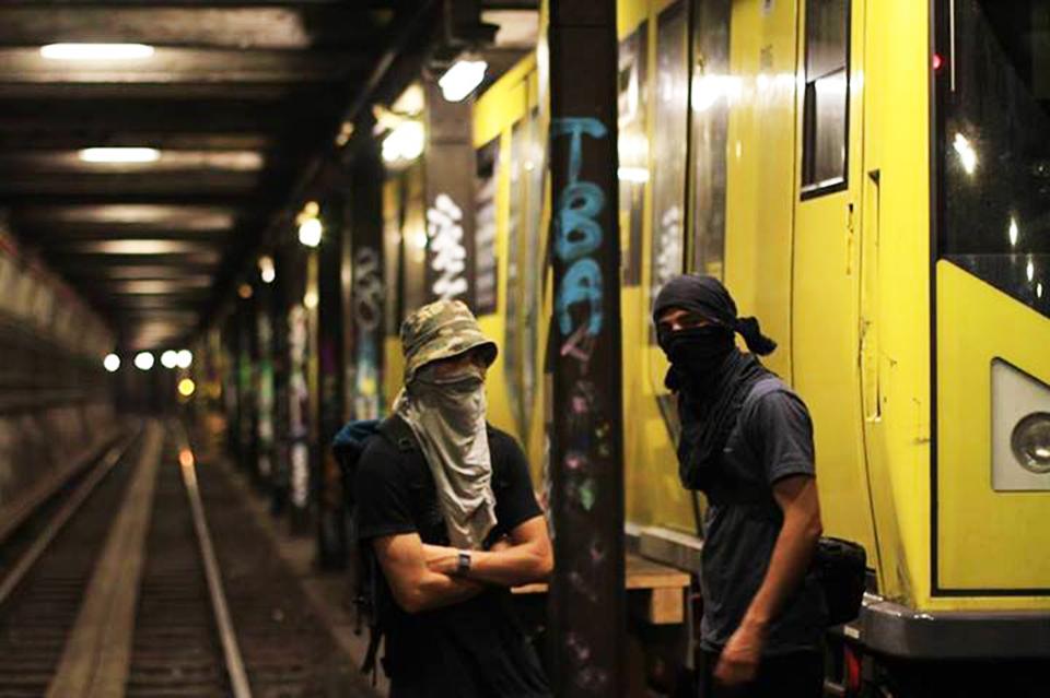 graffiti subway berlin tunnel germany vandalpose