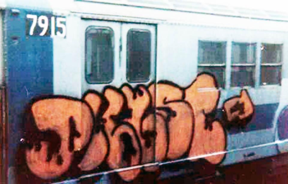 graffiti subway classic nyc newyork phase2