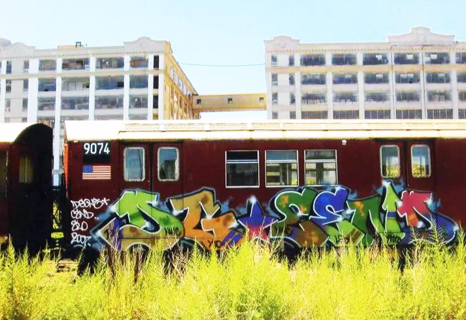 graffiti subway nyc newyork USA dg rip 2007
