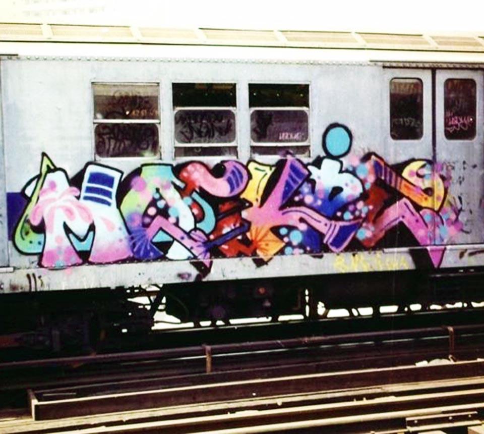 graffiti subway classic nyc newyork mackie