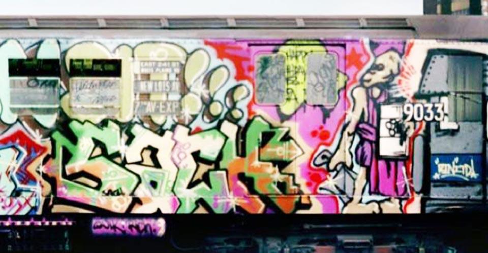 graffiti subway classic nyc newyork sach