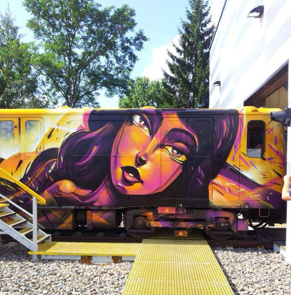 graffiti subway berlin germany sofles amazingart