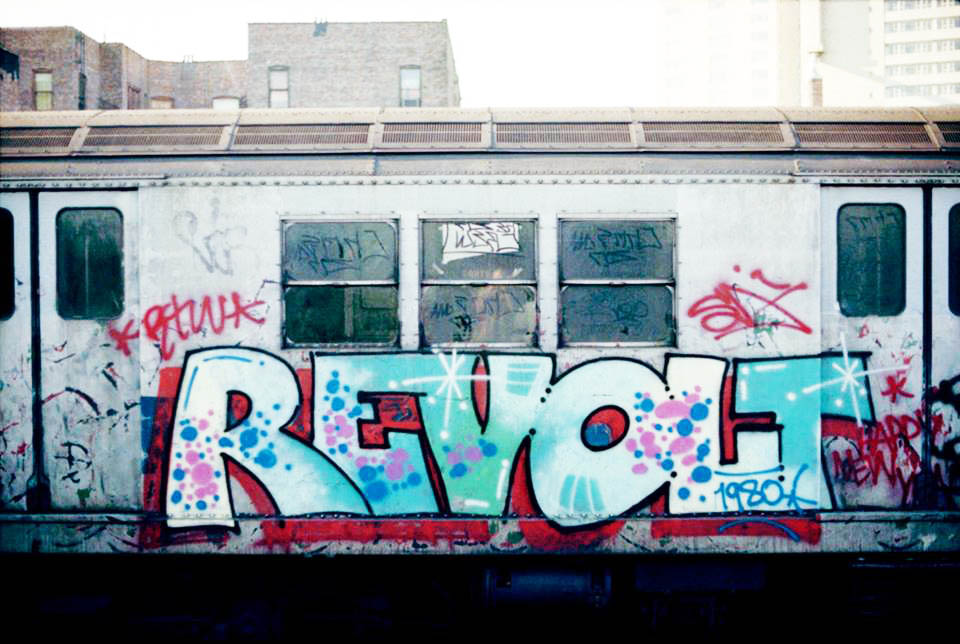 graffiti subway nyc newyork USA classics revolt