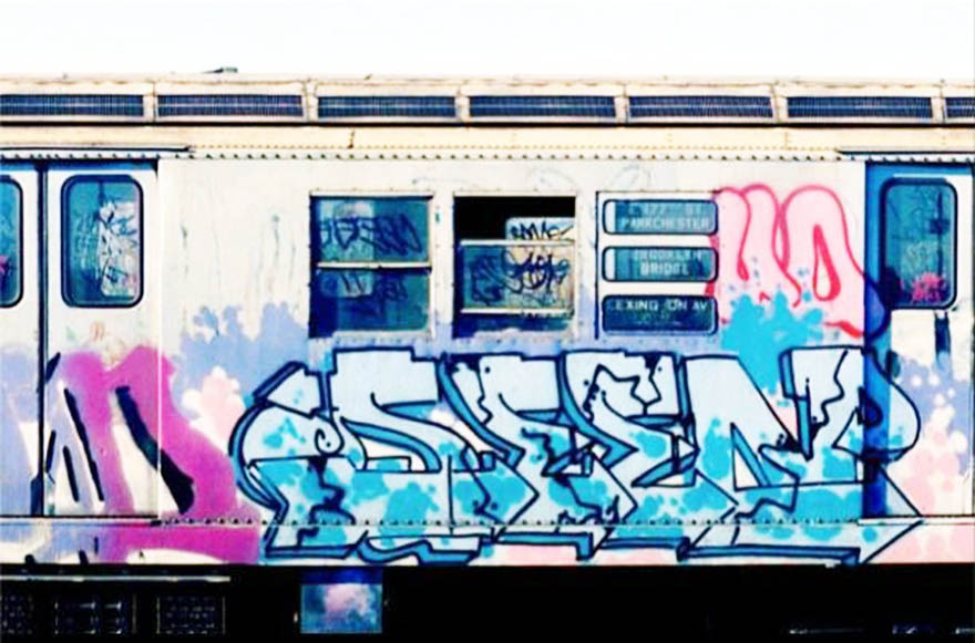 graffiti subway nyc newyork USA classics seen
