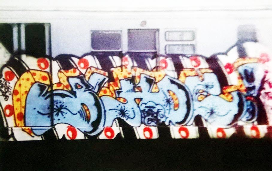 graffiti subway nyc newyork classic blade