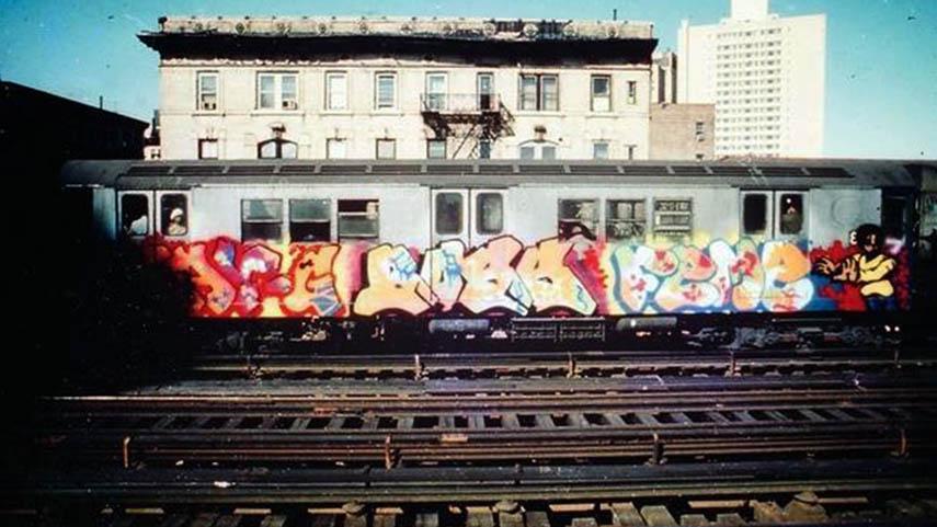 graffiti subway train graffitigod nyc newyork