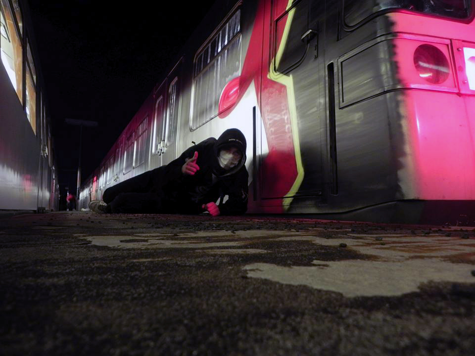 graffiti trains subway 2015 vienna austria