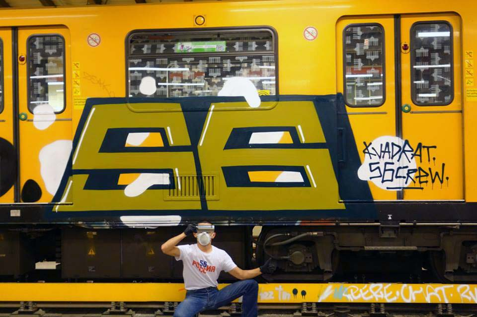 grafiti train subway 2015 berlin germany