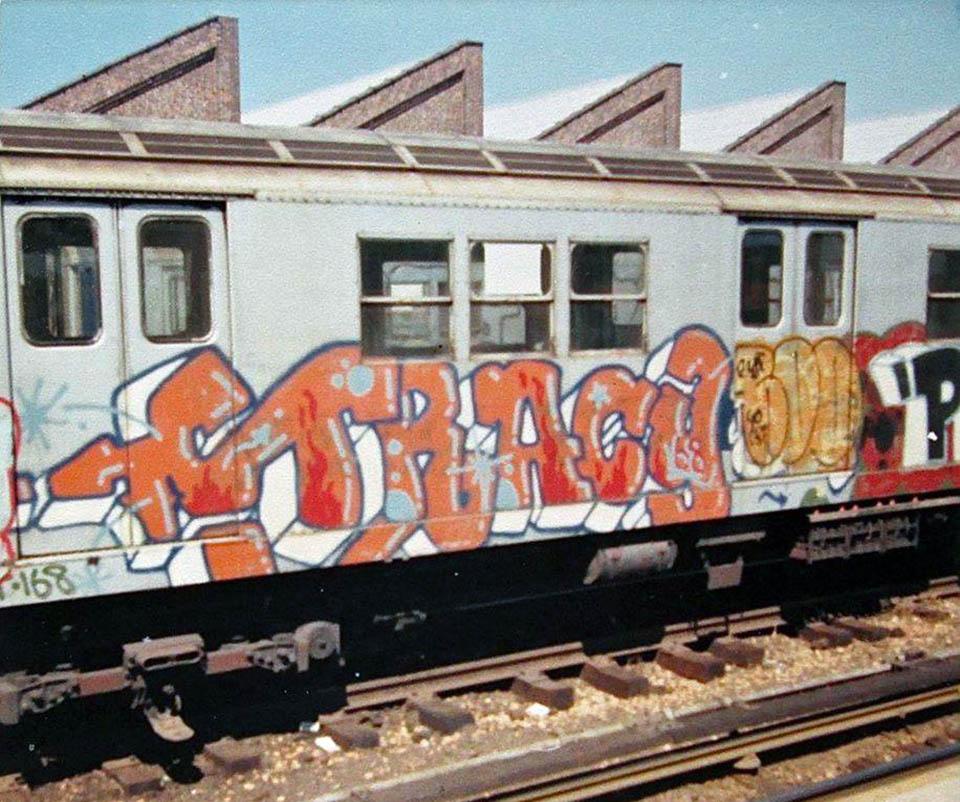 graffiti train subway nyc classic tracy usa