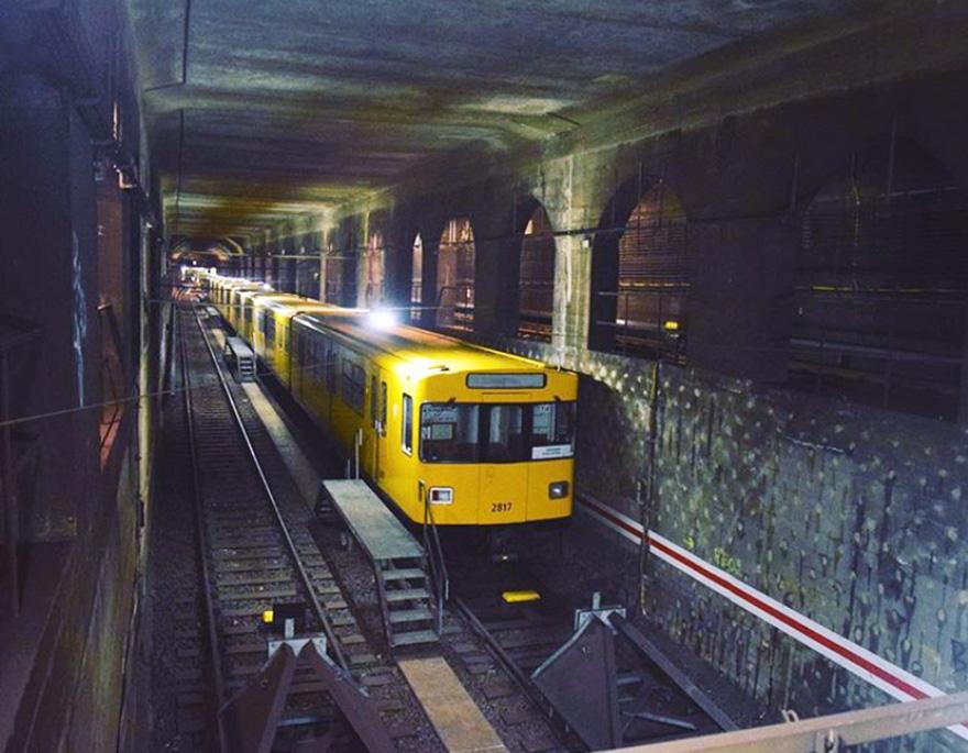 graffiti subway train berlin germany spot