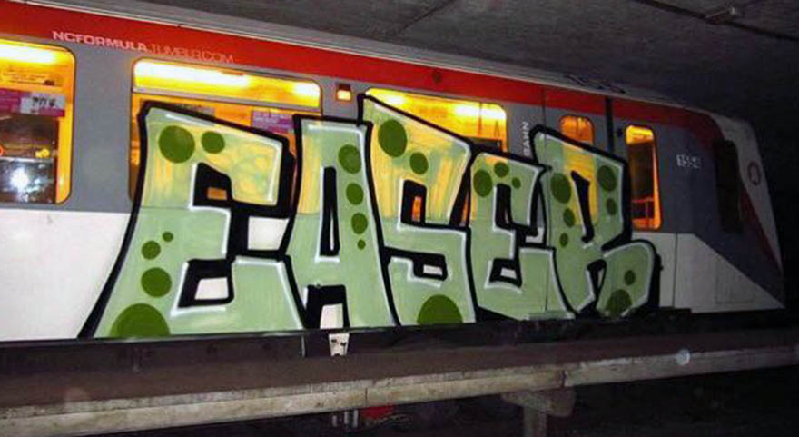 graffiti subway train hamburg germany easer ncformulatumblr.com
