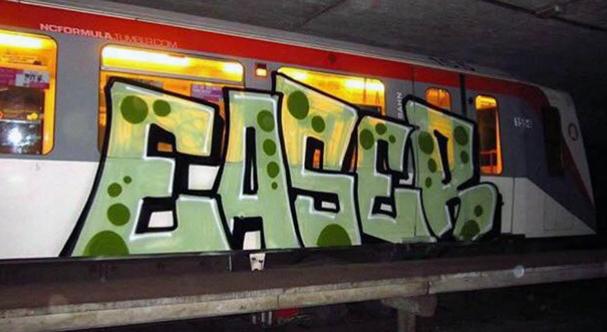 graffiti subway train hamburg germany easer ncformulatumblr.com