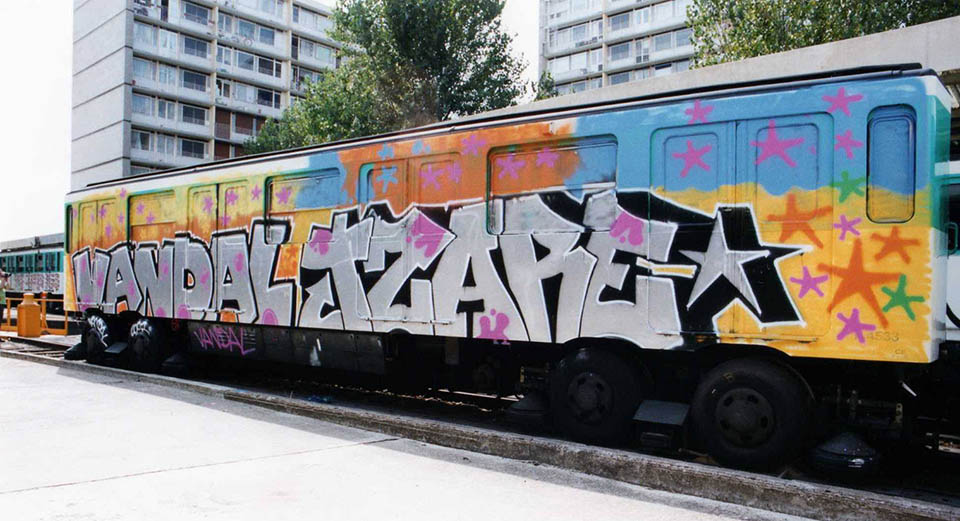 graffiti subway train france paris wholecar uv tpk