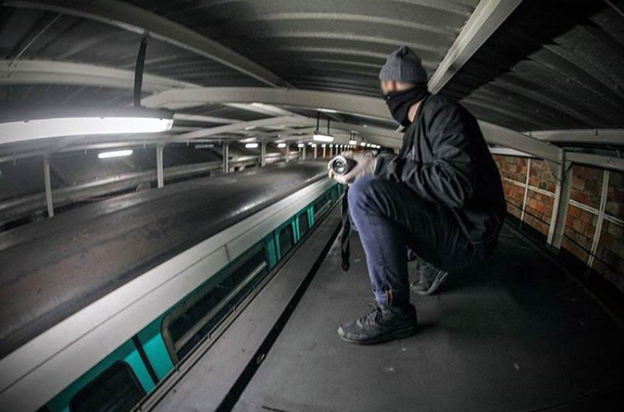 graffiti train subway paris france yardcheck