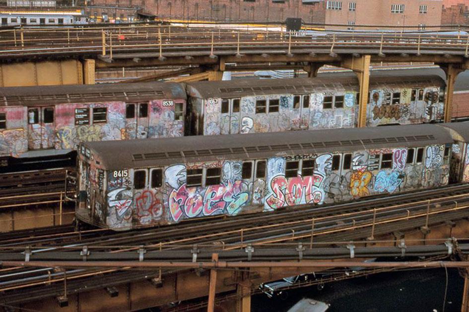 graffiti subway train classic nyc newyork usa poes sot