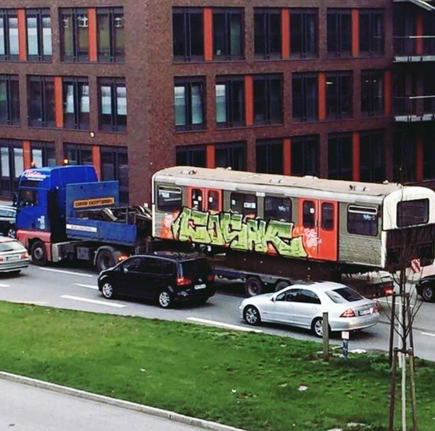 graffiti train subway hamburg germany gbr cosak