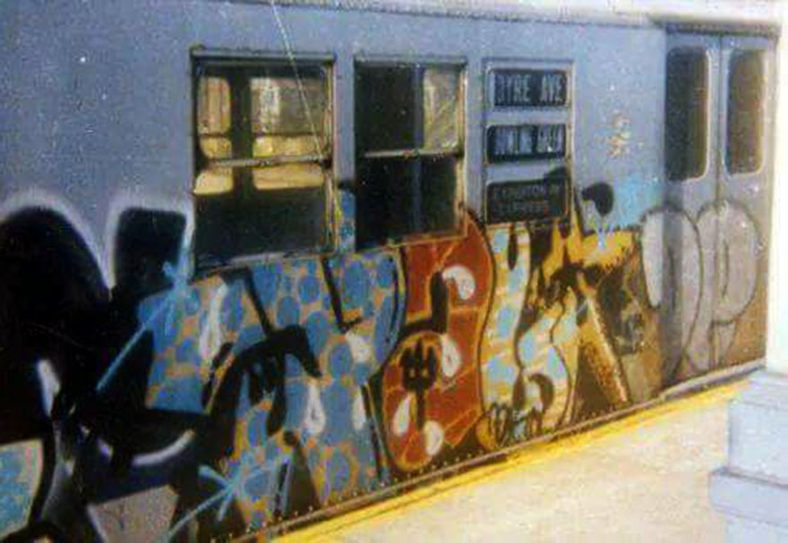 graffiti train subway writing nyc usa newyork calssic 70s 80s palo