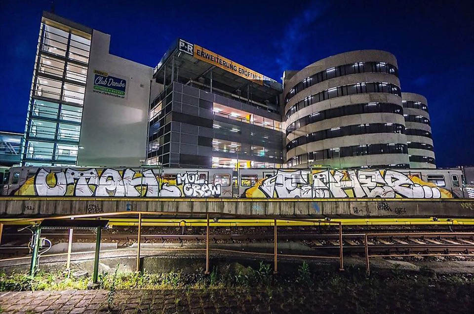graffiti train subway writing vienna austria utah ether mul married couple 2017