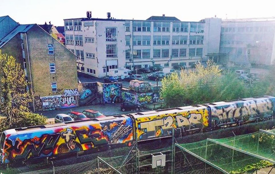 graffiti writing train subway art copenhagen denmark wholetrain noee trab wuss