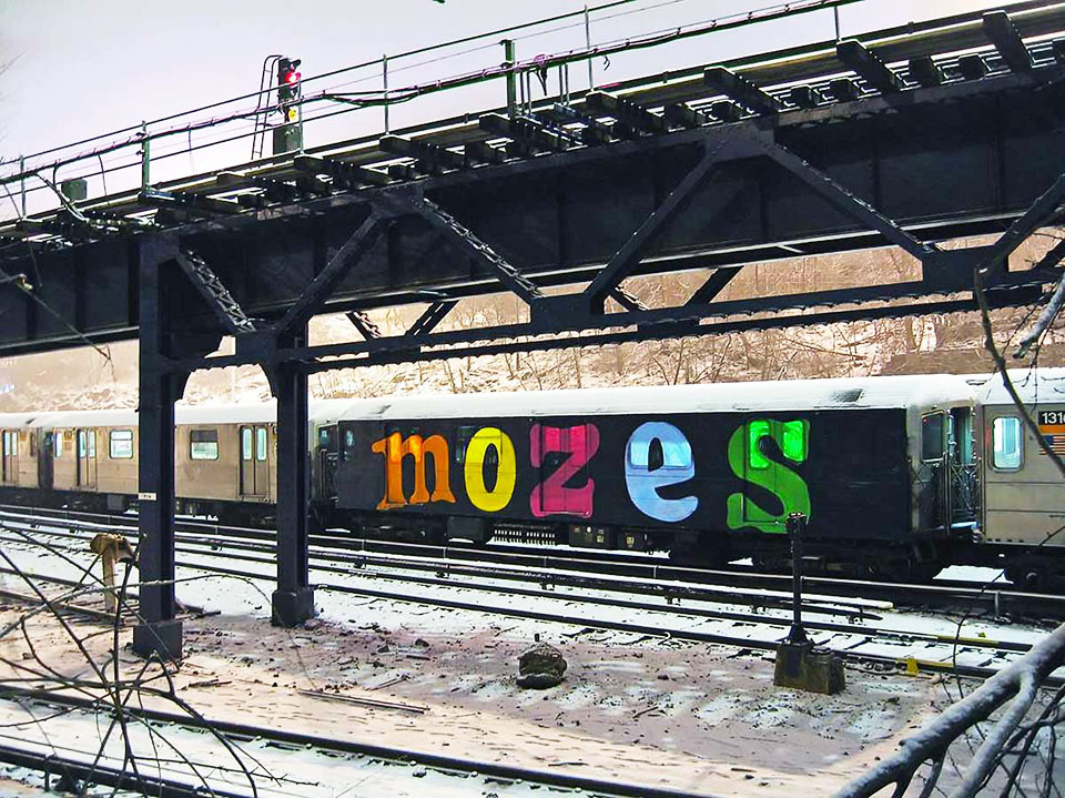 graffiti train subway writing nyc newyork usa moses king wholecar