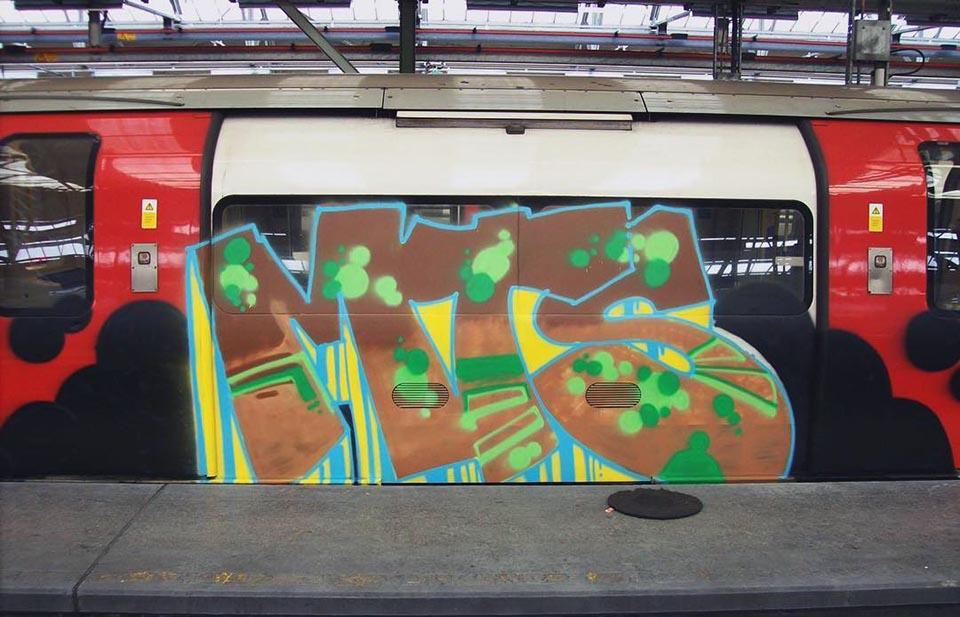 graffiti subway train writing london tube uk mts 2018