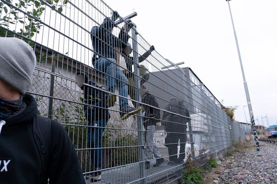 graffiti subway train writing stockholm sweden yard attack