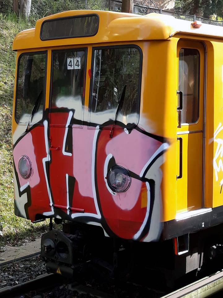 graffiti writing train subway subwayart berlin germany