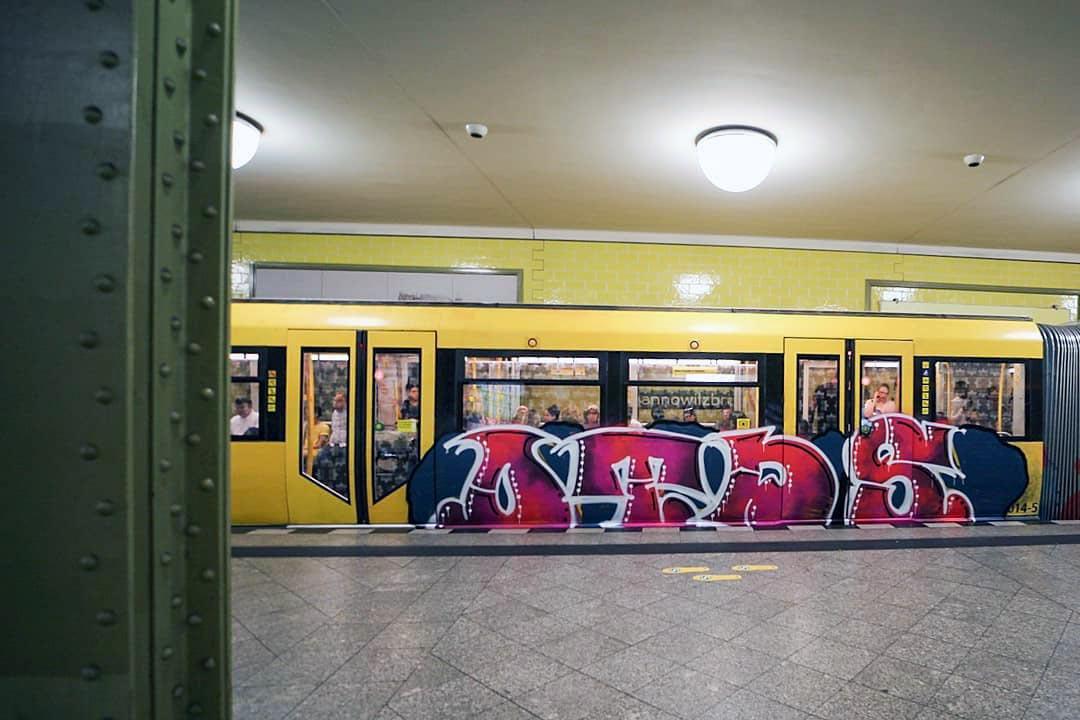 graffiti writing subway subwayart subwaytrain otds berlin 2019