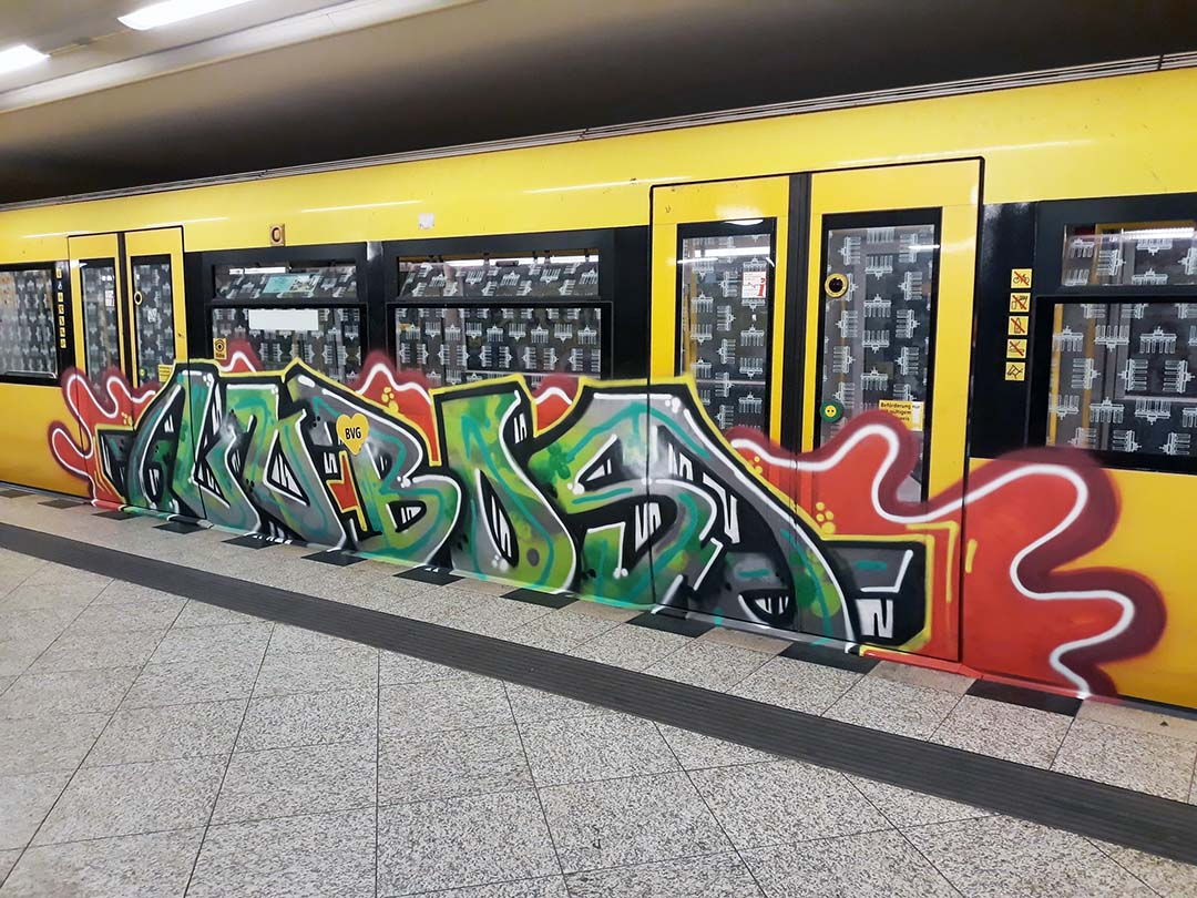 graffiti writing subway subwayart subwaytrain lobos rip berlin 2019